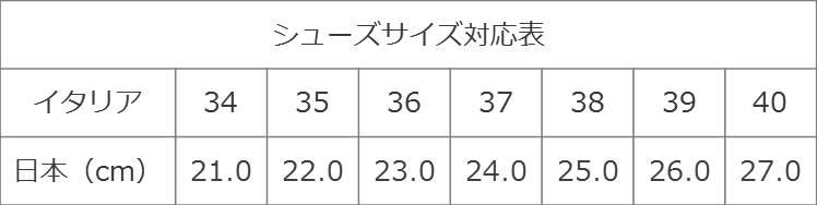 エミリオ・プッチサイズ対応表 | シューズ