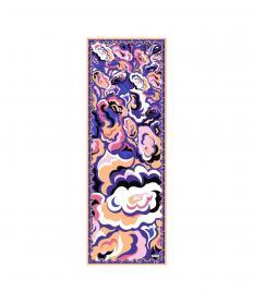 スカーフ ピンク/パープル【送料無料】